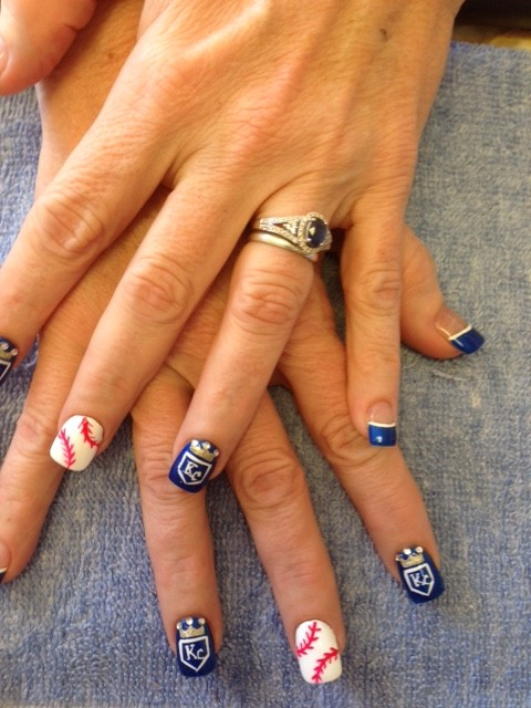 Solar Nails Westport Kc Royals Solar Nails Westport