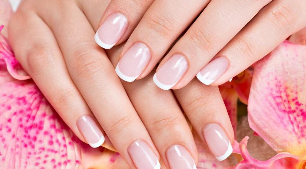 Solar Nails Westport Kansas City french manicure